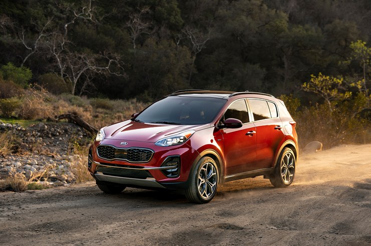 January 2020 New Sportage Specials